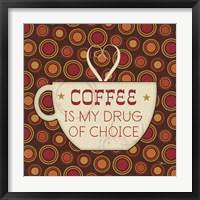 Caffeine II Framed Print