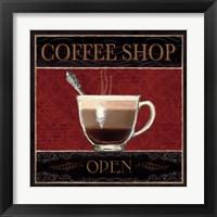 Framed Coffee Shop I
