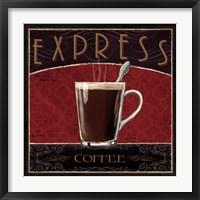 Coffee Shop IV Framed Print