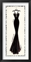Framed Couture Noir Original III with Border