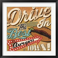 Framed Diners and Drive Ins I