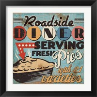 Framed Diners and Drive Ins II