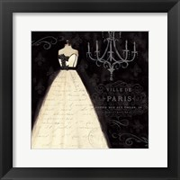 Framed French Couture I