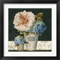 Framed French Vases II