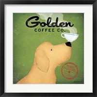 Framed Golden Coffee Co.