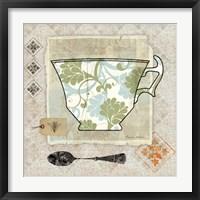 Framed Garden Cafe II