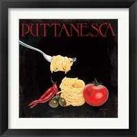 Framed Italian Cuisine I