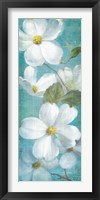 Framed Indiness Blossom Panel Vinage I
