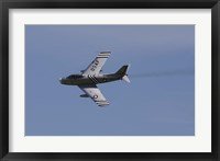 Framed North American F-86A Sabre of the US Air Force