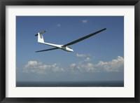 Framed ARolladen-Schneider LS4 glider over Herrljunga, Sweden