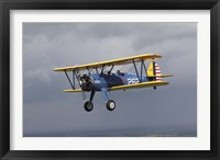 Framed Boeing Stearman Model 75 Kaydet in US Army colors