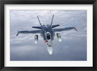 Framed Front View of F/A-18 Hornet of the Finnish Air Force