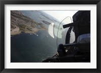 Framed Flying in a Saab J 32 Lansen fighter of the Swedish Air Force Historic Flight