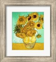 Framed Sunflowers, 1888