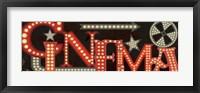 Framed Movie Lights I