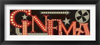 Framed Movie Lights I