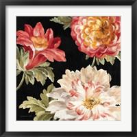Framed Mixed Floral IV Crop II