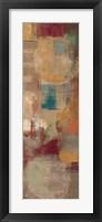 Oriental Trip Panel II Framed Print