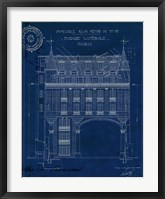 Framed Quai Henri Blueprint II