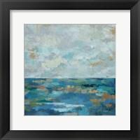 Seascape Sketches I Framed Print