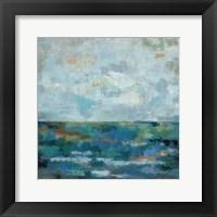 Seascape Sketches II Framed Print