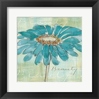 Framed Spa Daisies I