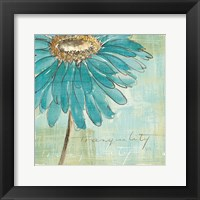 Framed Spa Daisies III