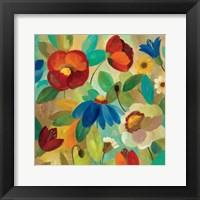 Summer Floral I Framed Print