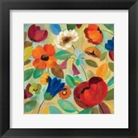 Summer Floral IV Framed Print