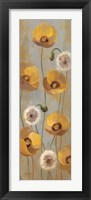 Framed Spring Poppies II