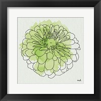 Framed Watercolor Floral I