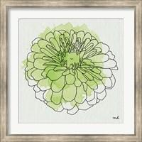 Framed Watercolor Floral I