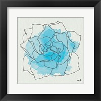 Framed Watercolor Floral II