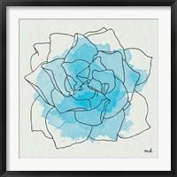 Framed Watercolor Floral II