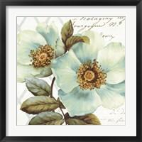 Framed White Floral Bliss I