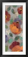 Urban Floral Panel I Framed Print