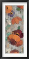 Urban Floral Panel II Framed Print