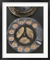 Framed Old Vintage Pay Phone II