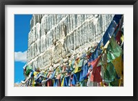 Framed Prayer Flags, Leh, Ladakh, India