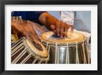 Framed Drum Player's Hands, Varanasi, India