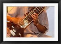 Framed Sitar Player, Varanasi, India