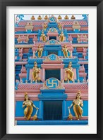 Framed Temple at Sai Baba Ashram, India