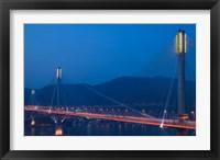 Framed Hong Kong, Ting Kau Bridge, Tsing Yi Island, Ting Kau