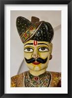 Framed Statue Head, Raj Palace Hotel, Jaipur, India
