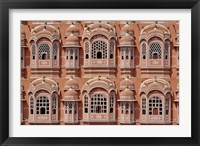 Framed Palace of the Winds, Jaipur, India