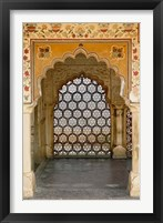 Framed Archway, Amber Fort, Jaipur, India