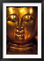 Framed Golden Temple Buddha at Cemetary, Hong Kong