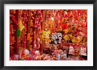 Framed Chinese Ornaments, Hong Kong, China