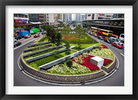 Framed Garden Roundabout, Hong Kong, China
