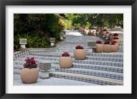 Framed Steps in Hong Kong Park, Hong Kong, China